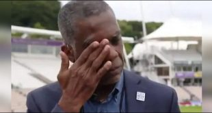 Michael Holding became obsessed