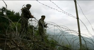 firing on Indian Army Line of Control