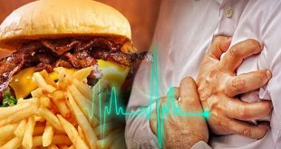 Poor diet is cause of heart attack