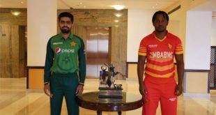 Pakistan and Zimbabwe