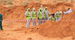 Mass graves in Libya are shocking