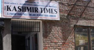 Modi government seals office of Kashmir Times