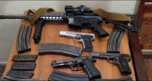 bans display of weapons