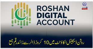 More than 100M$ deposited in Roshan Digital Account