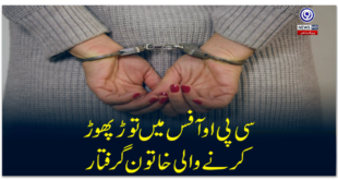 Woman arrested for vandalizing CPO office