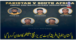 Pakistan South Africa Test Series