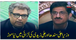 New twist in the battle between Sindh Chief Minister and Ali Zaidi