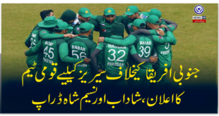 National-team-for-series-against-South-Africa-announced-Shadab-and-Naseem-Shah-drop