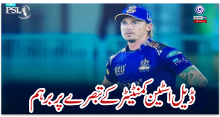 Angry over Dale Steyn commentator's comment