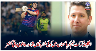England cricket team was not a threat in Pakistan, British High Commissioner