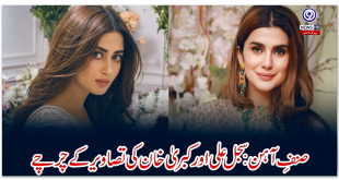 Iron Man: Discussions on the pictures of Sajjal Ali and Kabra Khan