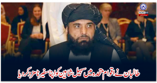 The Taliban has appointed Sohail Shaheen as its ambassador to the United Nations
