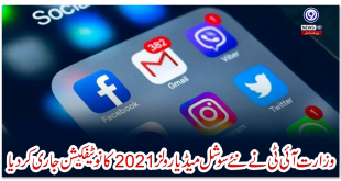Ministry of IT has issued notification of new social media rules 2021