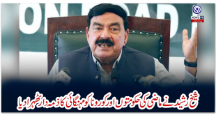 Sheikh Rashid blamed past governments and Corona for inflation